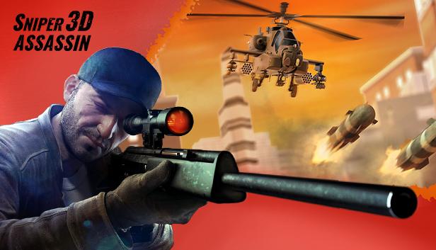 Sniper 3D Assassin Apk İndir – Para Hileli Mod  3.30.5 Son Sürüm