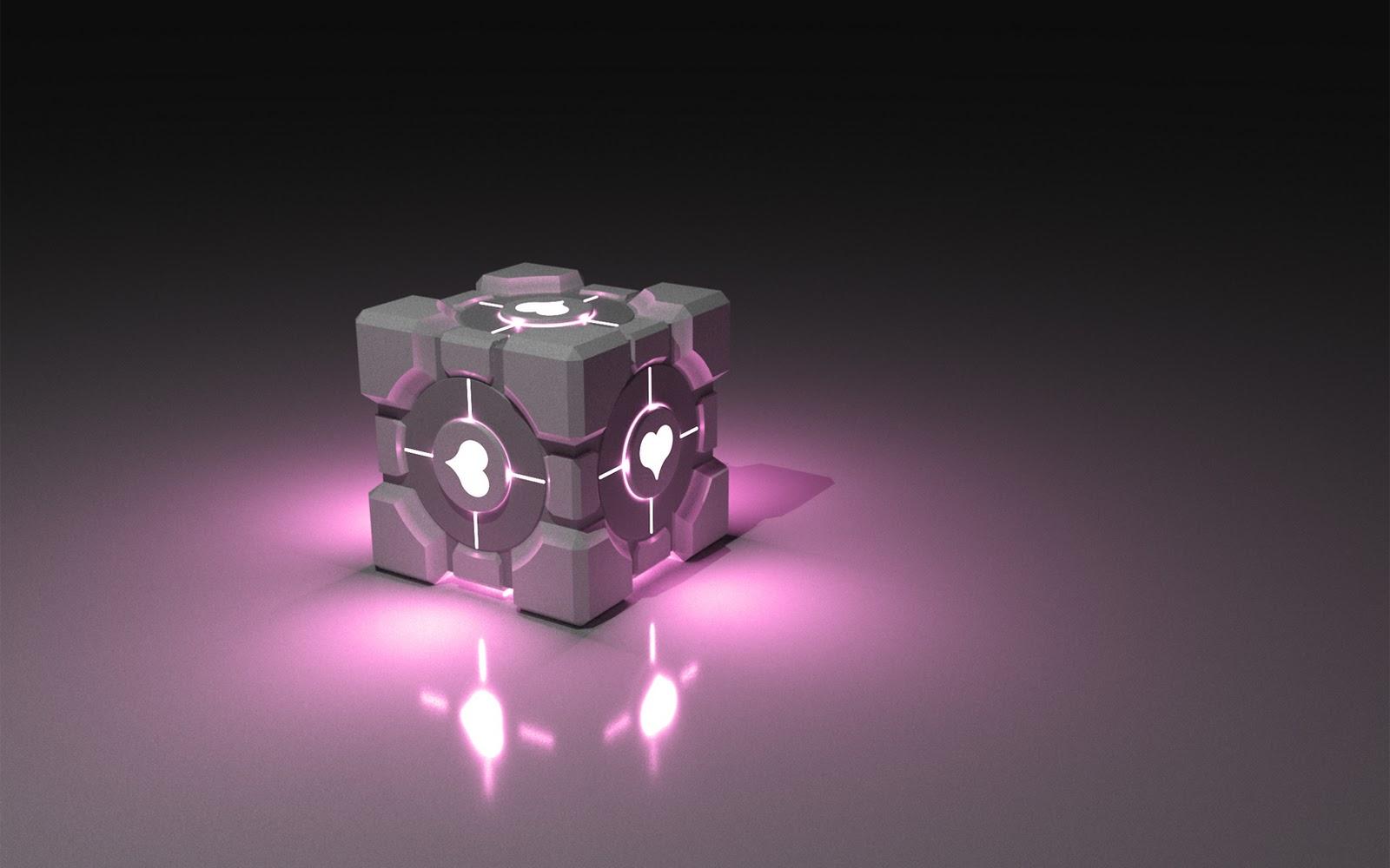 Will It Blender 3d Wallpaper Companion Cube