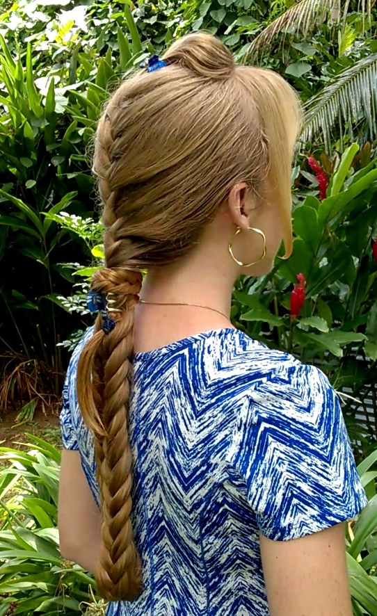 Braids   Hairstyles for Super Long Hair  Haartraum s Hybrid Braid Of course I couldn t wait to try this look myself  Here are pictures of my  version today  a hybrid braid for super long hair