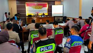 Polres Bima Gelar Latihan Pra Operasi Patuh Rinjani Tahun 2021