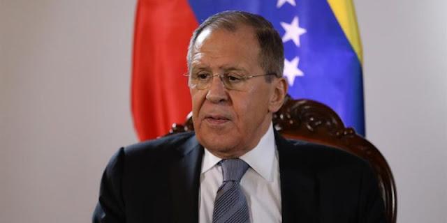 """Lavrov: crisis en Venezuela debe ser solucionada con """"medidas políticas y diplomáticas"""""""