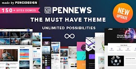 Download PenNews - News/ Magazine/ Business/ Portfolio/Reviews Landing AMP WordPress Theme
