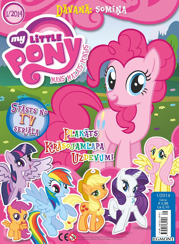 My Little Pony Latvia Magazine 2014 Issue 1 MLP Merch