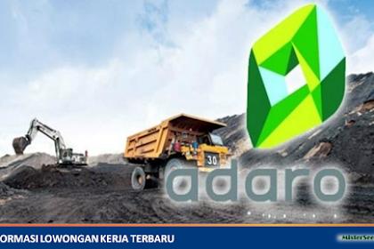 Lowongan Kerja PT. Adaro Energy Tbk (Perusahaan Tambang Batubara)