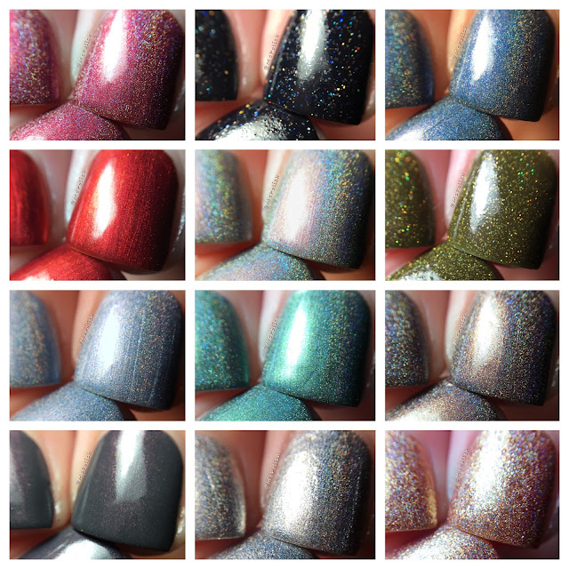 Nine Zero Lacquer - Men of Letters Collection - McPolish
