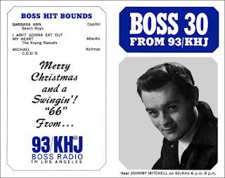 KHJ Boss 30 No. 25 - Johnny Mitchell