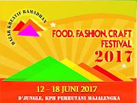 Bazar Ramadhan 2017 d'Jungle KPH PERHUTANI Majalengka, 12-18 Juni 2017