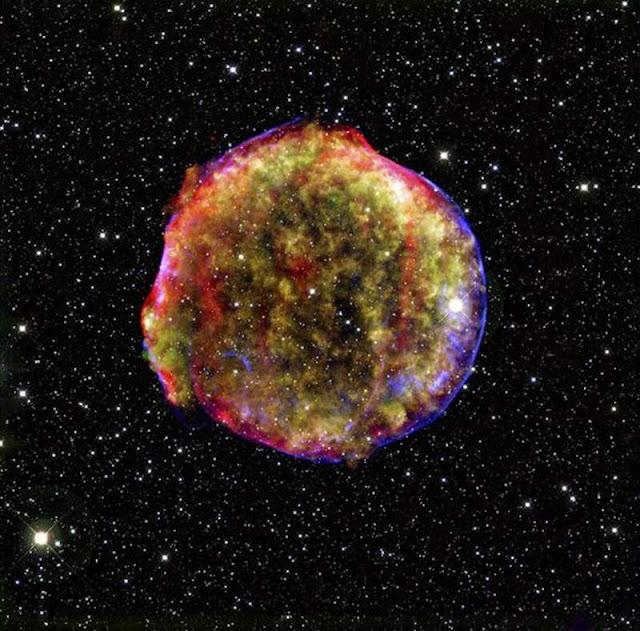 supernova - résidu de SN1572