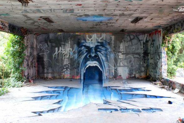 الفن بأى شىء وعلى أى شىء street-art-work-38.j