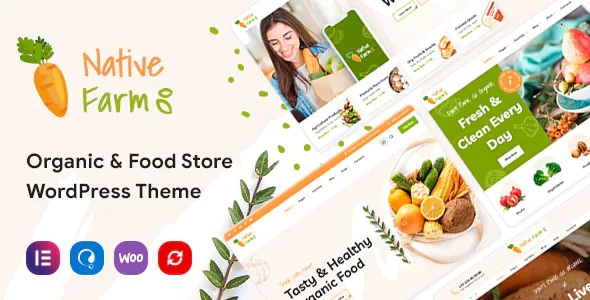 Best Organic and Healthy Food WordPress Theme