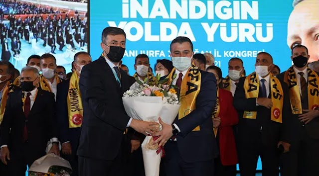 AK Parti'nin Şanlıurfa yönetim kurulu listesi belli oldu!