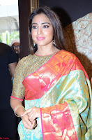 Shriya Saran Looks Stunning in Silk Saree at VRK Silk Showroom Launch Secundrabad ~  Exclusive 120.JPG