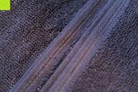 """Ränder: ZOLLNER hochwertiges Strandlaken / Strandtuch / Badetuch 100x200 cm marine-weiß, in weiteren Farben erhältlich, direkt vom Hotelwäschehersteller, Serie """"Marina"""""""