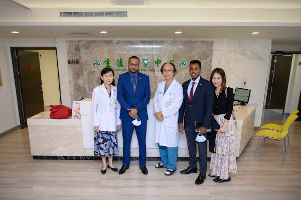 索馬利蘭駐台大使參訪彰基 民間醫療合作跨第一步