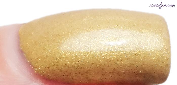 xoxoJen's swatch of Black Dahlia  My Butter Half