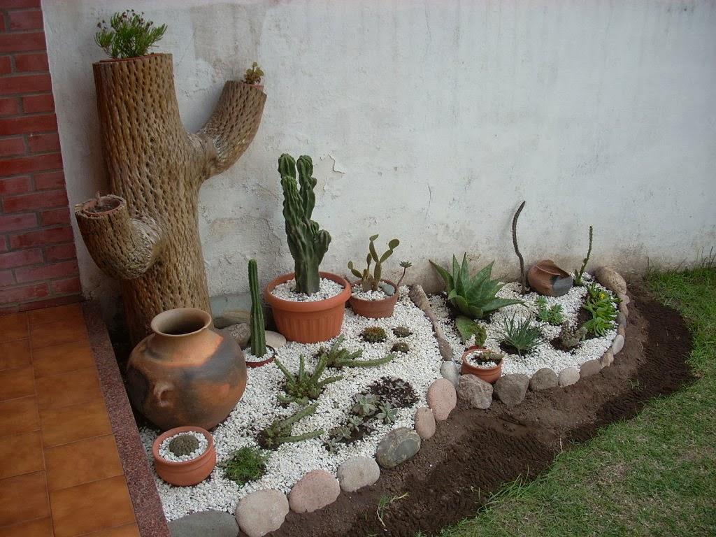 Jardines en macetas - Elementos decorativos para jardin ...