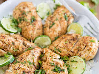 OVEN BAKED LIME AND PEPPER CHICKEN