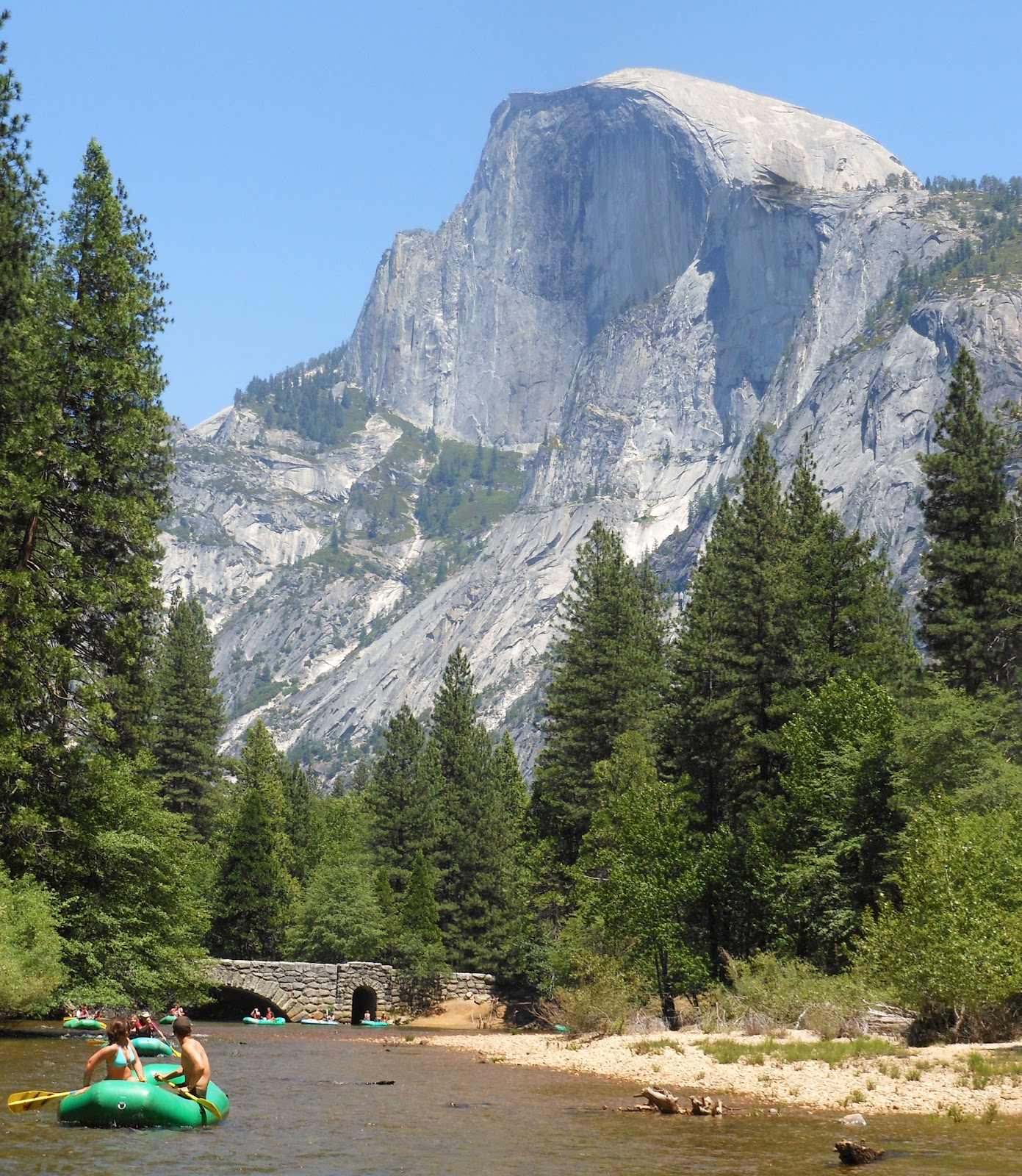 River Rafting Yosemite National Park: 1000 Hikes In 1000 Days: Curry Village