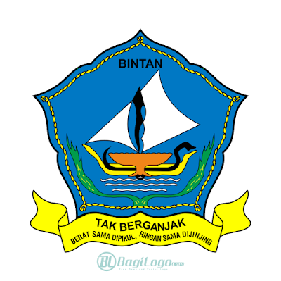 Kabupaten Bintan Logo Vector