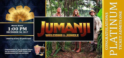 Indomie has done it again this Yuletide season! Win a chance to watch the Jumanji movie free!