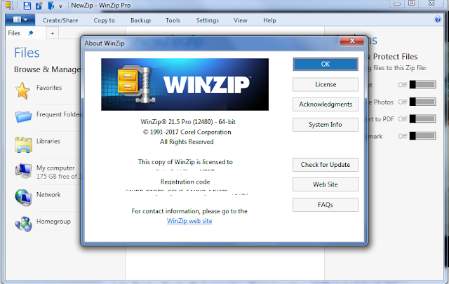 Full winzip pro v.12 working serials