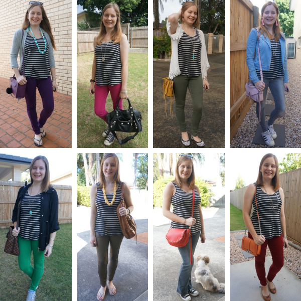 6 different jeans and black and white tank outfit ideas awayfromblue