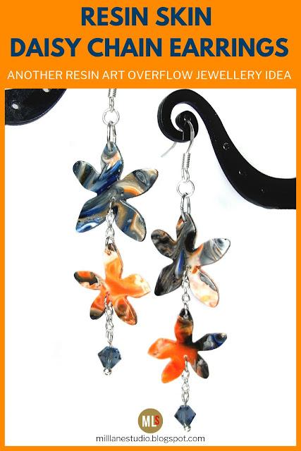 Daisy Chain earrings inspiration sheet.