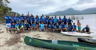 Remada Ecológica de Cananéia recebe seleção brasileira paralímpica