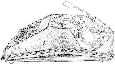 oz.Typewriter: Sears 'Throwback' Portable Typewriter