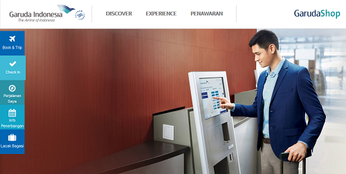 Cara Web Check In Garuda Indonesia