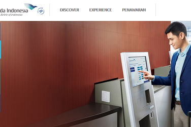 Cara web check in Garuda Indonesia