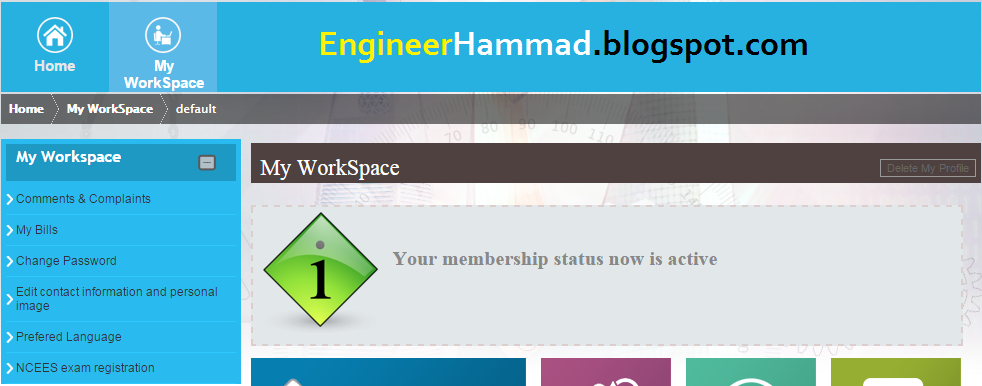 Saudi Engineering Council Registration step4