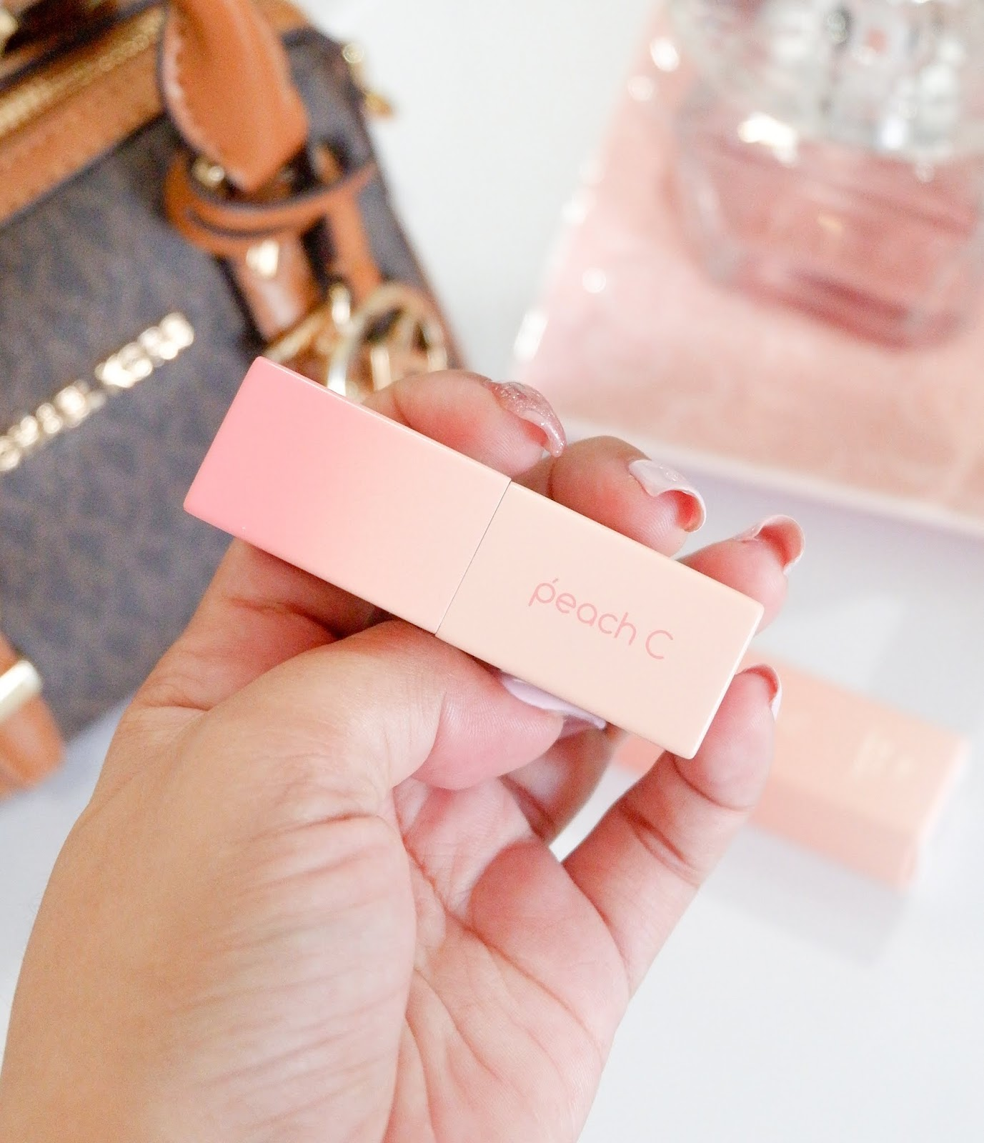 PEACH C: EASY MATTE LIPSTICK IN TANGERINE RED REVIEW