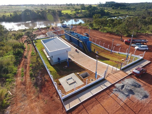Senador Canedo: Estação de Tratamento de Água  da Emgopa será inaugurada hoje