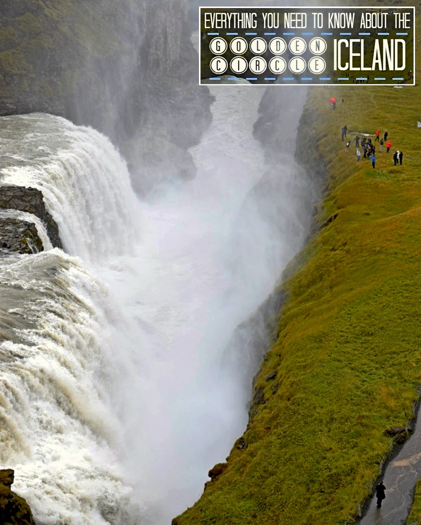 gullfoss need to know golden circle iceland map itinerary stops