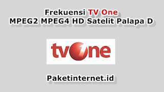 Frekuensi TV One Terbaru