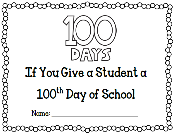 Hip hip hooray for the 100th day a is for adventures of for 100th day of school crown template