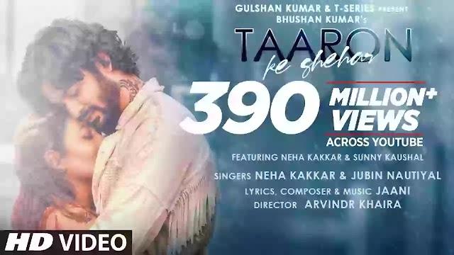 Lyrics of Neha Kakkar new song tharonka Sahar