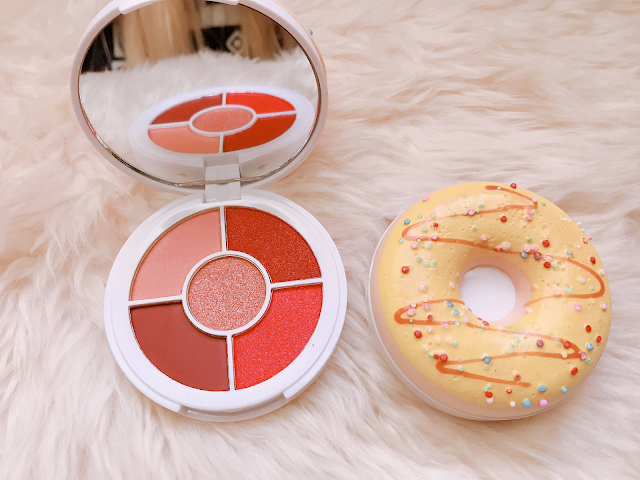 Maple Glazed Syrup & Strawberry Sprinkles Quint Eyeshadow Palette by I Heart Revolution $7