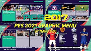 NEW PES 2021 Graphic Menu For PES 2017