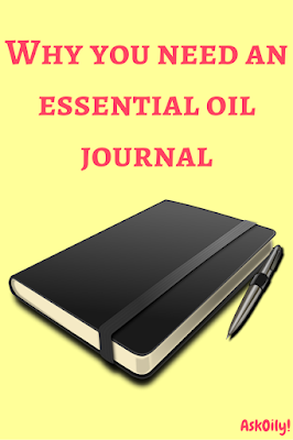 Why you need to buy an essential oil journal | Hot Pink Crunch