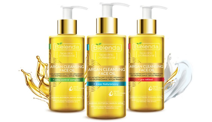 Bielenda Argan Cleansing Face Oil - pierwsze wrażenie