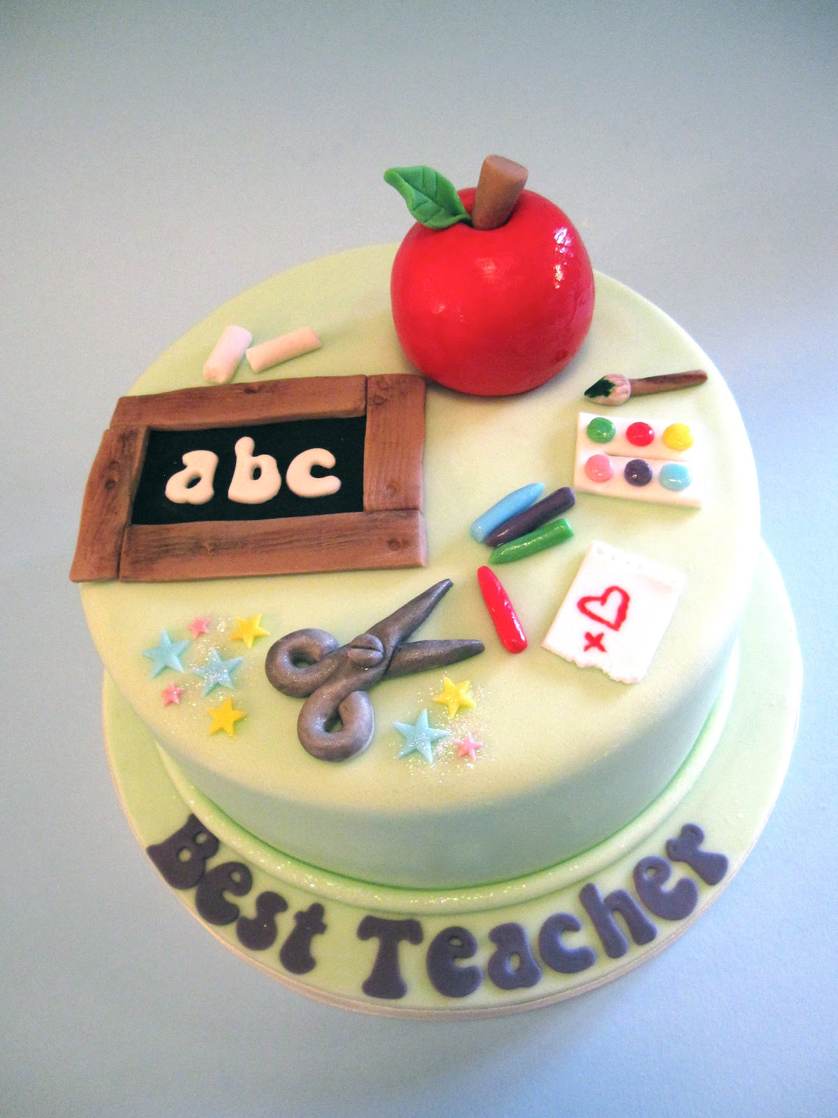 Teacher Thank You Cake Ideas