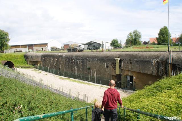 Esterno del Bunker de l'Abri di Hatten