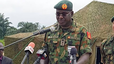 BREAKING : Don't Give Terrorists a Chance -Buratai Address troops,
