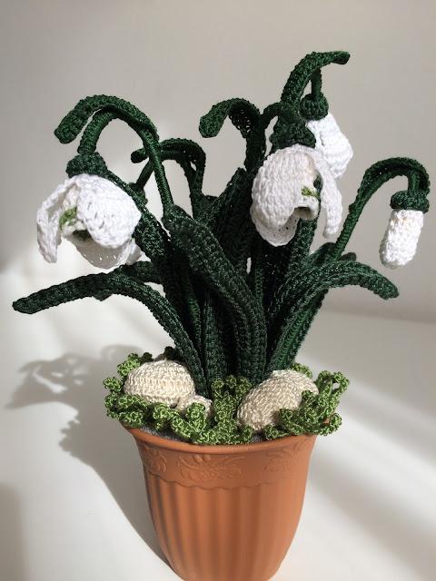 Il blog di sam how to crochet a snowdrop for Il blog di sam piante grasse