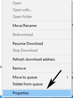 how to resume Idm broken file