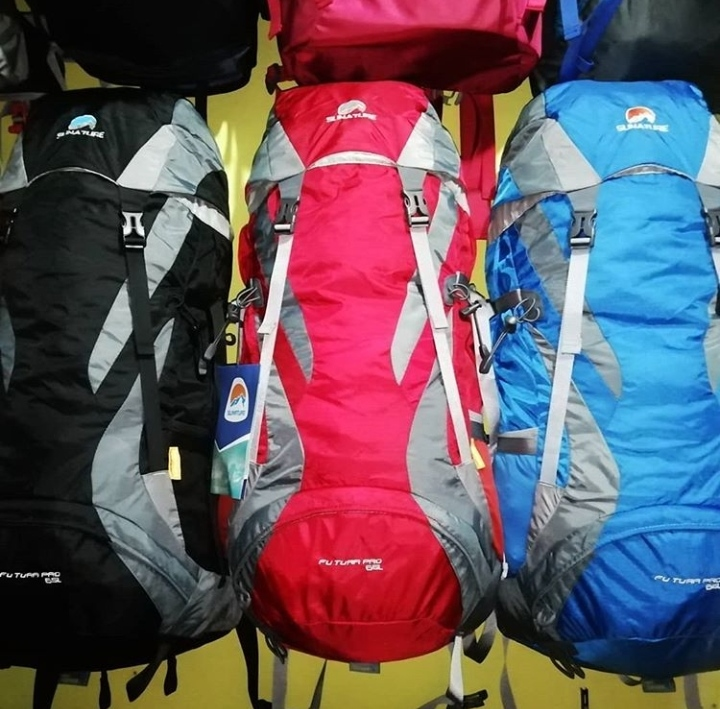 Carrier Tas Gunung Sunature 65 L