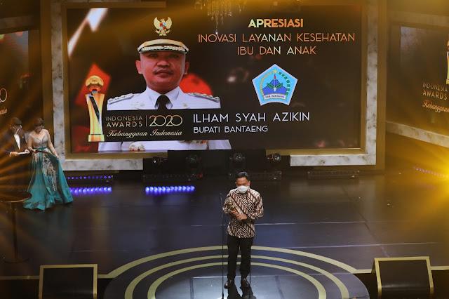 Terus Torehkan Prestasi, Bantaeng Raih Indonesia Awards 2020