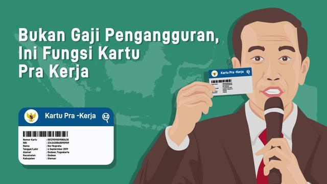 Kartu Pra Kerja Jokowi Bukan Untuk Para Pengangguran